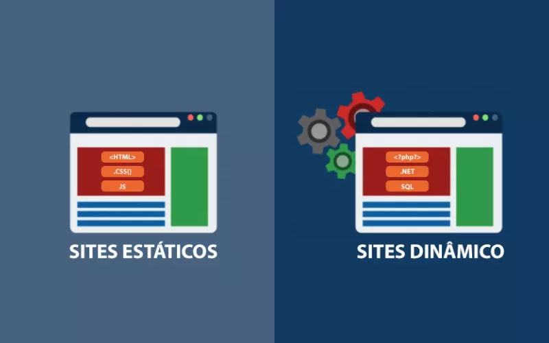 Sites estáticos e dinâmicos